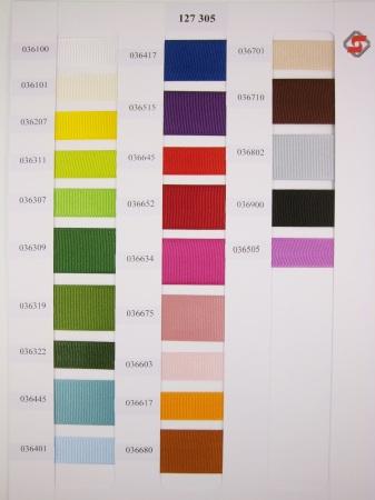 127 305 - 15, 25mm kompletní barevnice