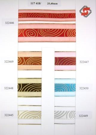 117 418 - 25, 40mm tisk spirály